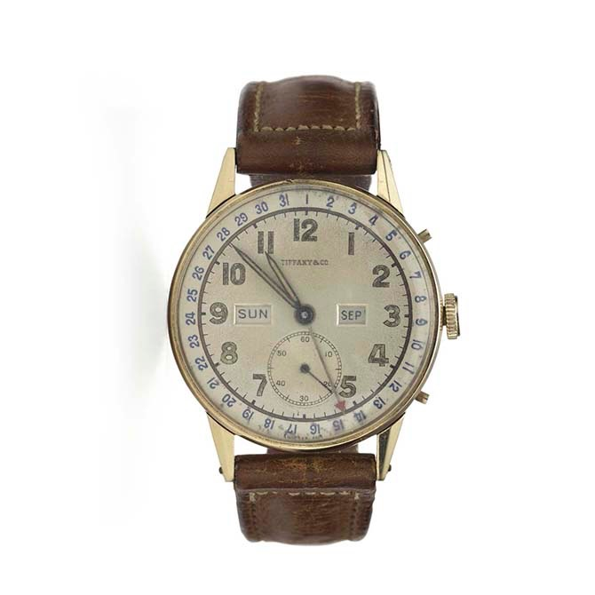 President Franklin Delano Roosevelt's Tiffany watch. Photo Tiffany & Co.