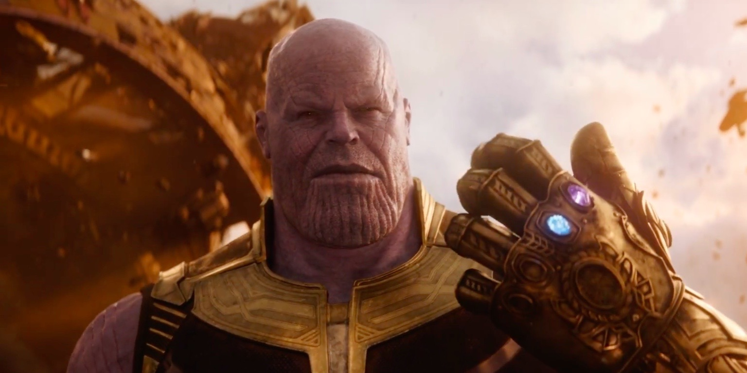 Thor wearing the Infinity Gauntlet in 'Avengers: Endgame' Photo Marvel Studios