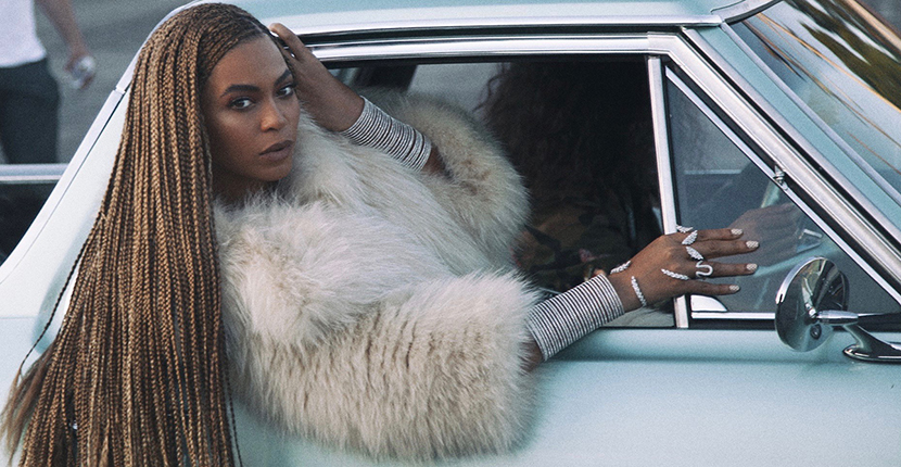 Beyoncé wearing Lynn Ban Coil Cuffs in her Formation video Photo Parkwood Entertainment