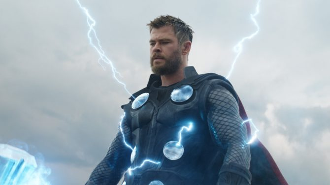 Chris Hemsworth returns as Thor in 'Avengers: Endgame.' Photo Marvel Studios