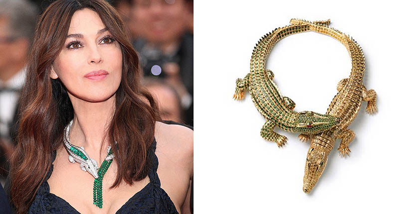 The Adventurine Posts Monica Bellucci Revived an Iconic Jewelry Look