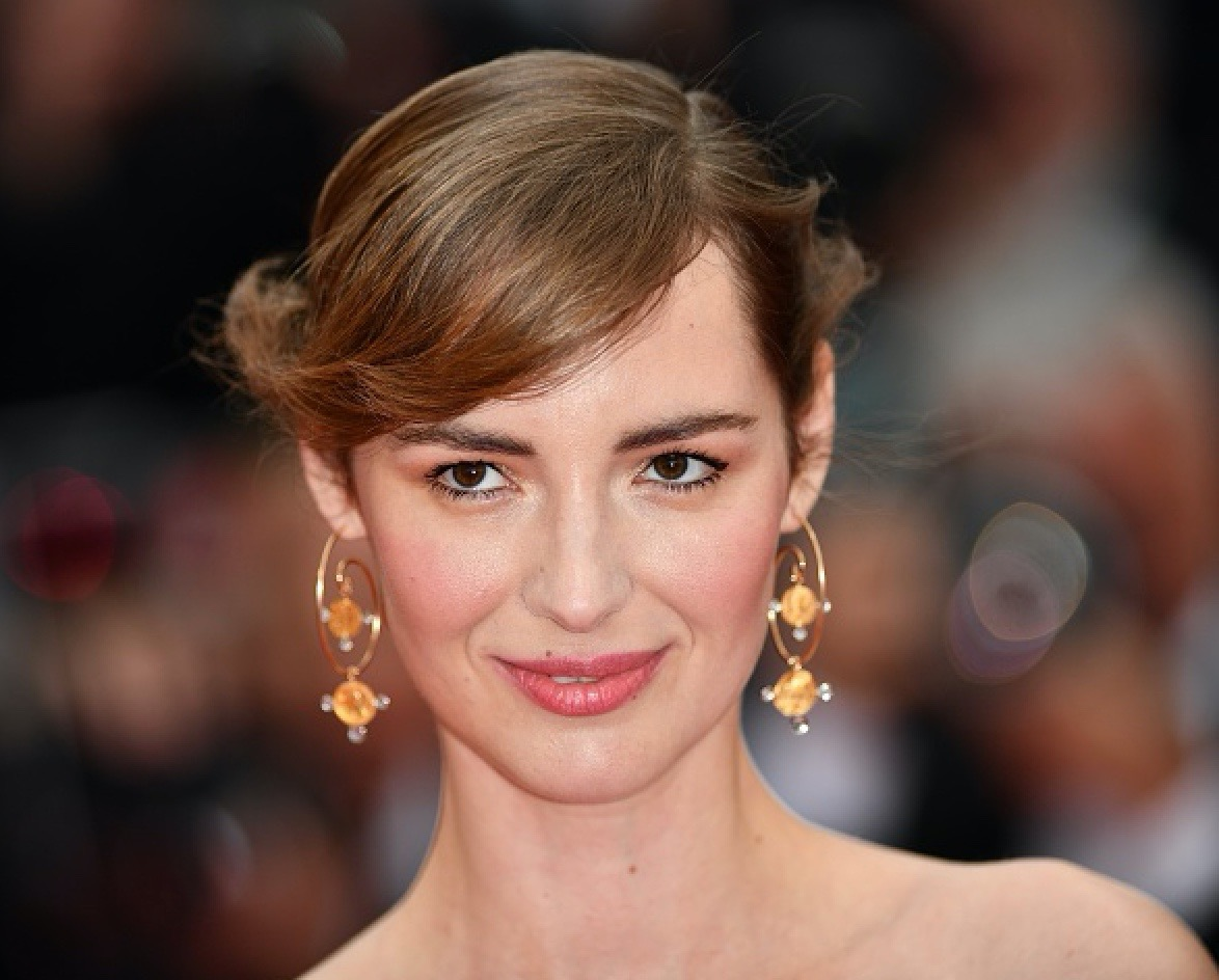 French actress Louise Bourgoin wore Boucles d'Oreilles earrings by Maison Auclert.
