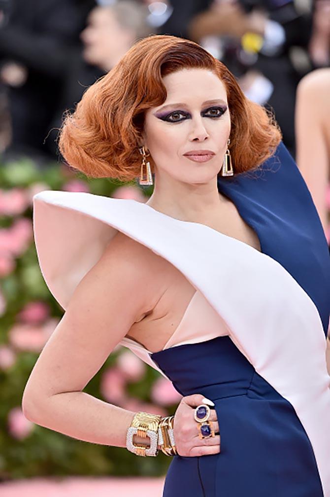 Natasha Lyonne wore jewels by David Webb at The 2019 Met Gala