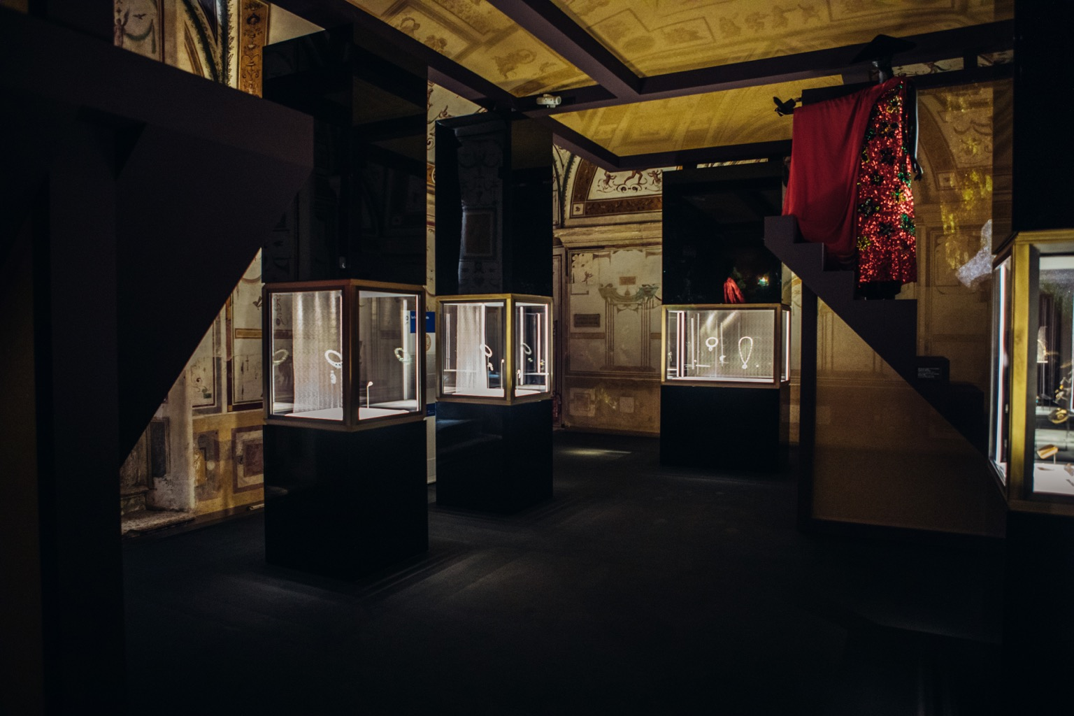 One of the galleries in the exhibit 'BVLGARI, The Story, The Dream' Photo courtesy