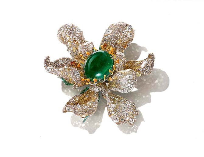 Cindy Chao The Art of The Jewel Chao Marguerite brooch Photo courtesy