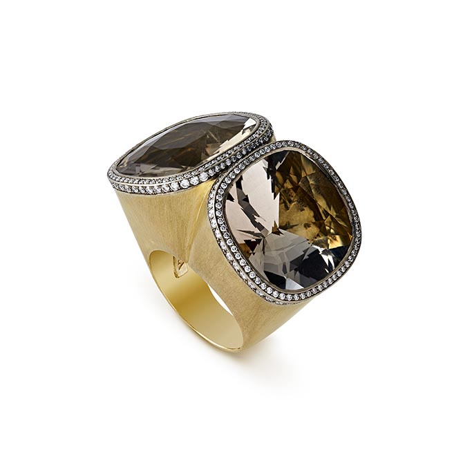 Grima cashmere quartz ring Photo courtesy