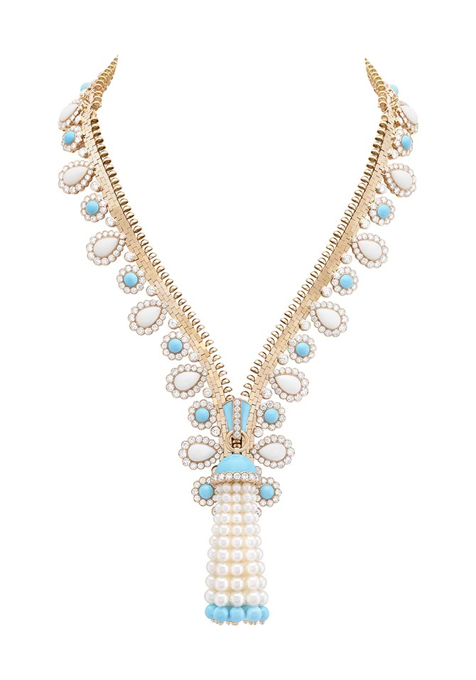 Van Cleef & Arpels Zipper Necklace Photo courtesy