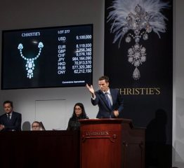 The Adventurine Posts In the Auction Room for The Al Thani Sale