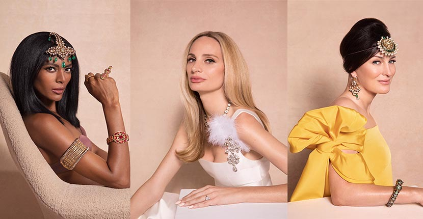 The Adventurine Posts Instagram Influencers Model The Al Thani Jewels