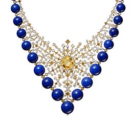 The AdventurinePostsNecklaces Shine in Cartier's New High Jewelry