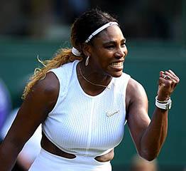 The AdventurinePostsSerena's Nike Broosh and Diamonds at Wimbledon