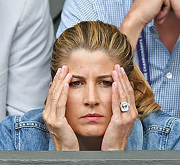 The Adventurine Posts Mirka Federer's Engagement Ring Is Huge