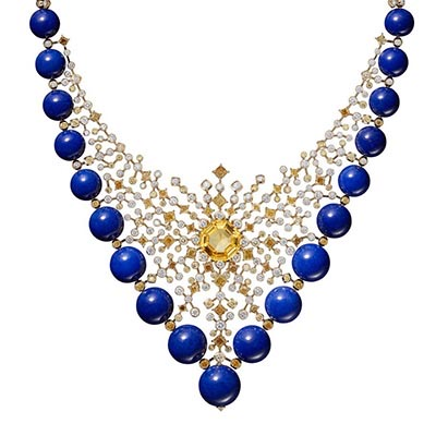 The Adventurine Posts Necklaces Shine in Cartier's New High Jewelry