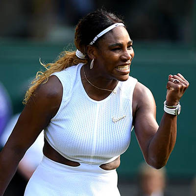 The Adventurine Posts Serena's Nike Broosh and Diamonds at Wimbledon