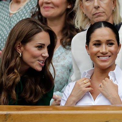 The Adventurine Posts The Jewelry Kate and Meghan Wore at Wimbledon