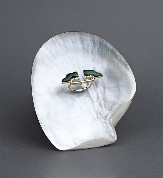 A ring from Ioanna Souflia's Atelier collection. Photo courtesy