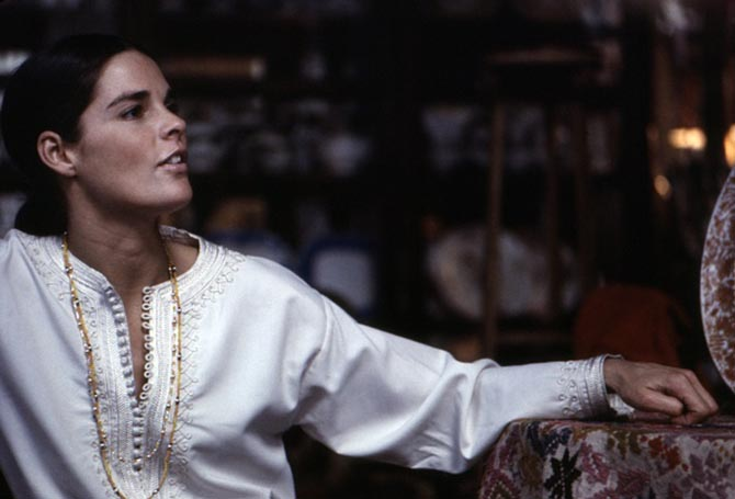 Ali MacGraw wore long beaded necklaces in 1969 similar in style to jewels seen in 'Once Upon A Time...In Hollywood.' Photo Getty