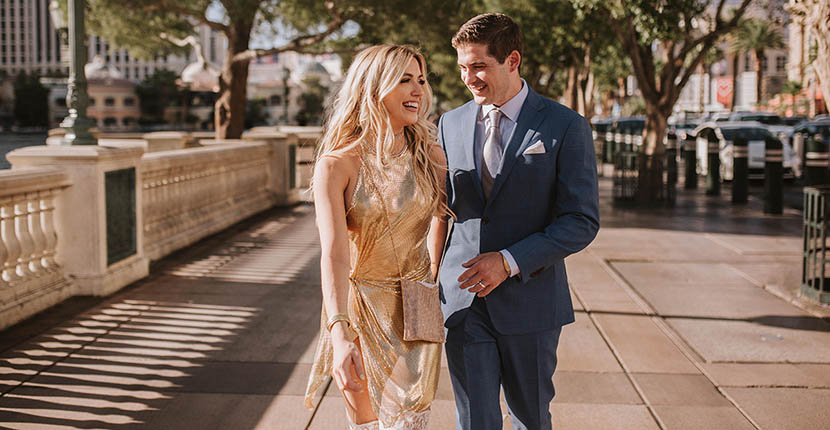 The Adventurine Posts A Jewelry Editor's Gold-Themed Wedding