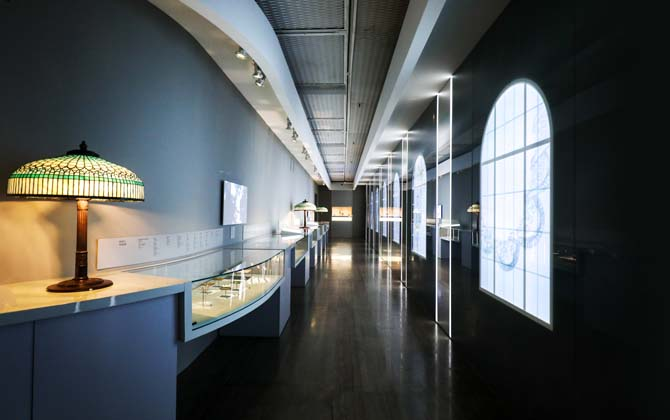Installation image of the Blue Book room in 'Visions & Virtuosity.' Photo courtesy