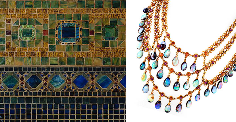 The AdventurinePostsLust: An Early 20th Century Opal Necklace