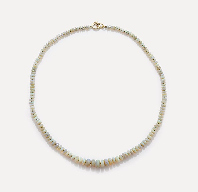 IRENE NEUWIRTH one-of-a-kind opal necklace, $11,720