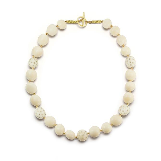 SILVIA FURMANOVICH jarina seed and Canadamark diamond necklace, $12,350