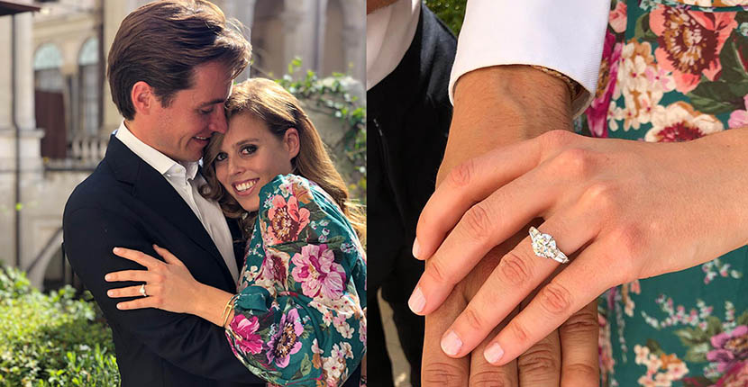 The Adventurine Posts Princess Beatrice's Engagement Ring Is Stunning