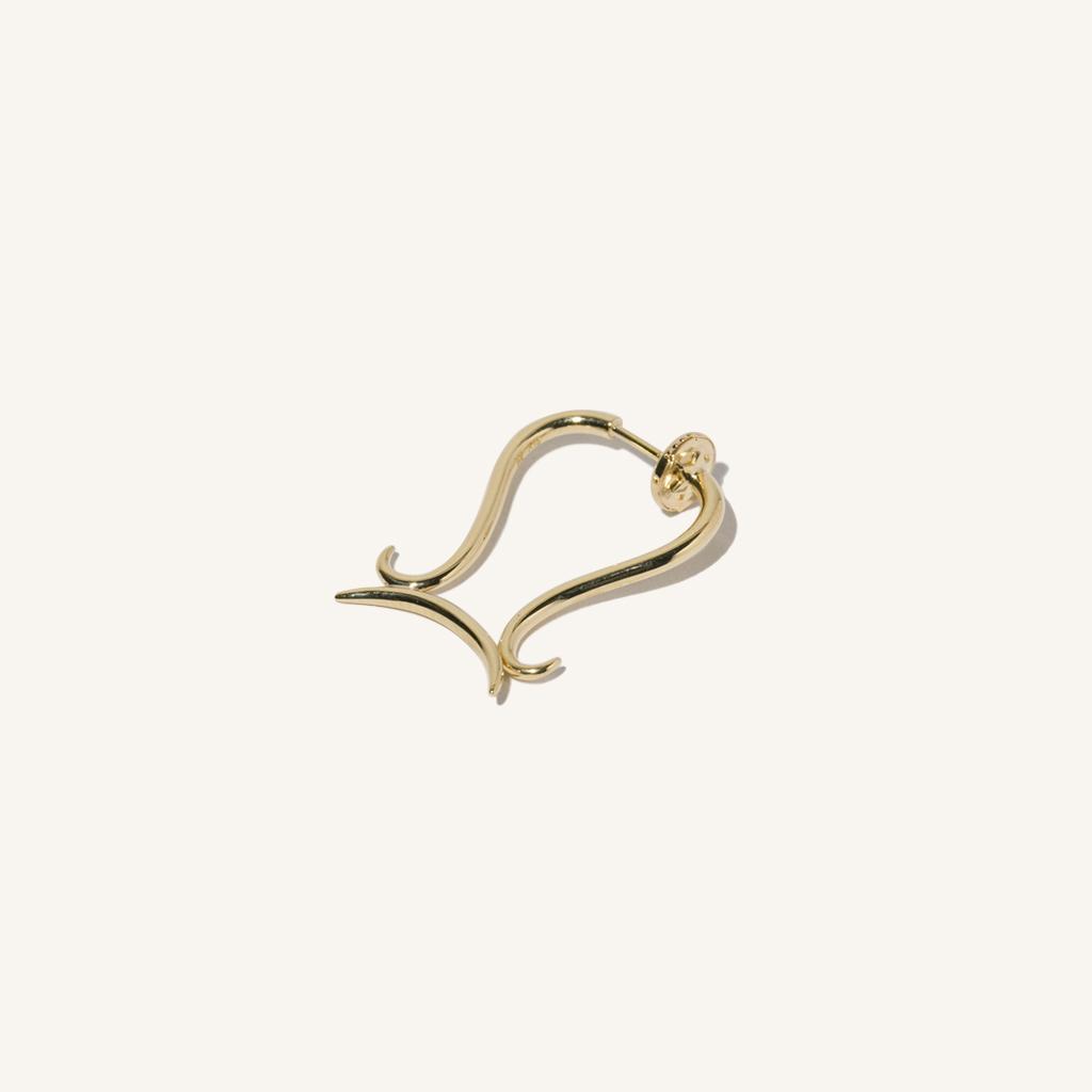 MILAMORE 18k Libra earring, $900