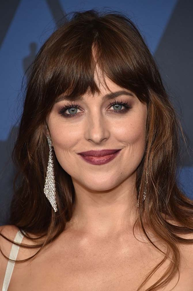 Dakota Johnson wore Messika earrings
