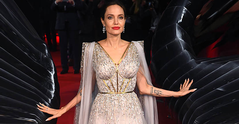 The Adventurine Posts See How Angelina Jolie's Gold Corset Was Made