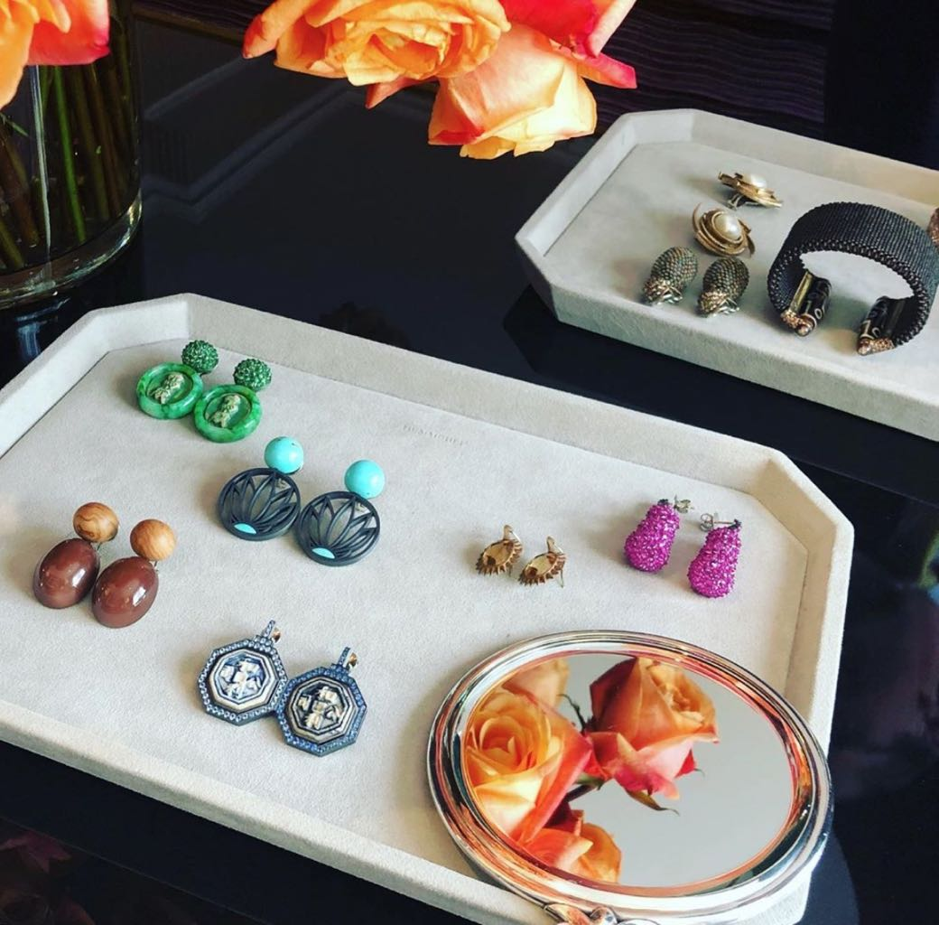 Image of Hemmerle jewels by Gem X co-founder Lin Jamison Photo via Instagram @linjewels