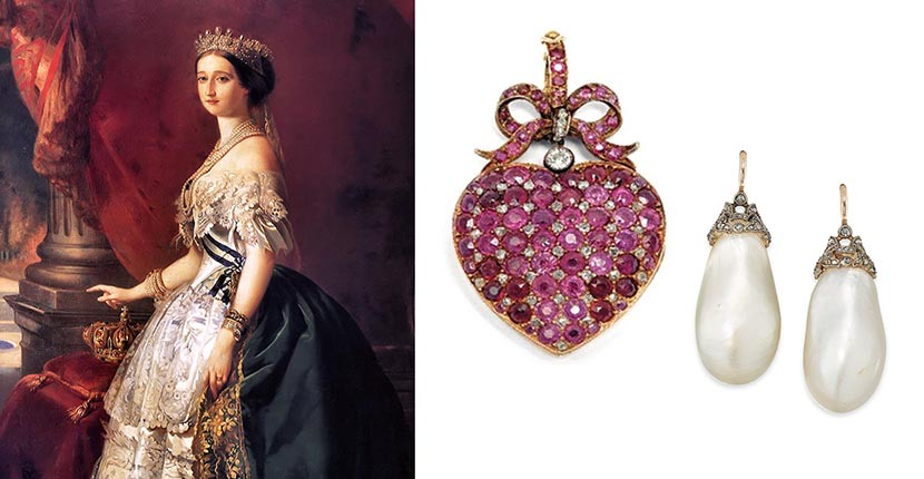The Adventurine Posts Empress Eugénie's Jewels Hit the Auction Block