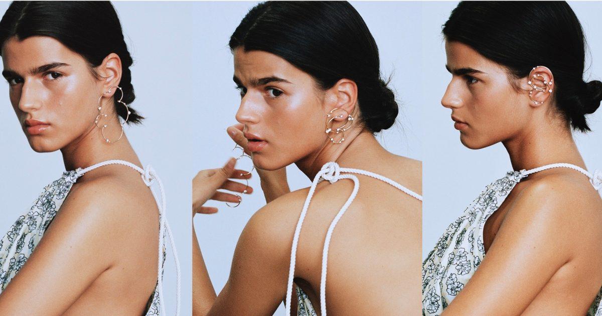 fernando jorge s new acrobat earring the adventurine. Black Bedroom Furniture Sets. Home Design Ideas