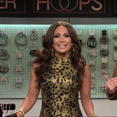 The Adventurine Posts Jennifer Lopez Hilariously Hawks Hoops on SNL