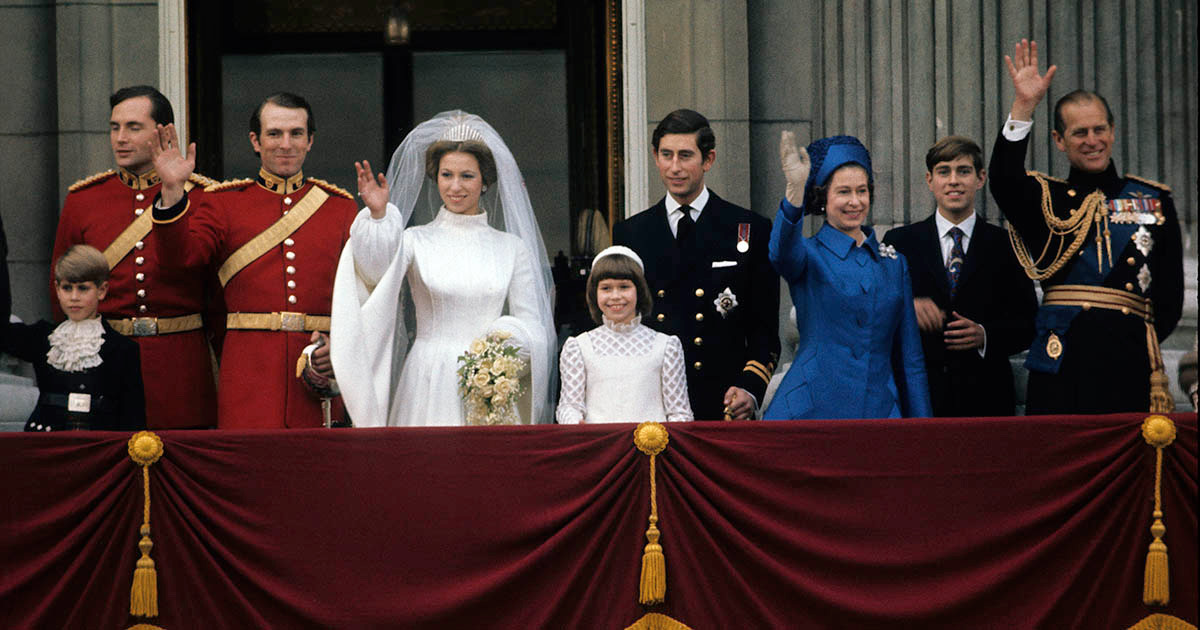 All the Details on Princess Anne's Chic Wedding | The Adventurine