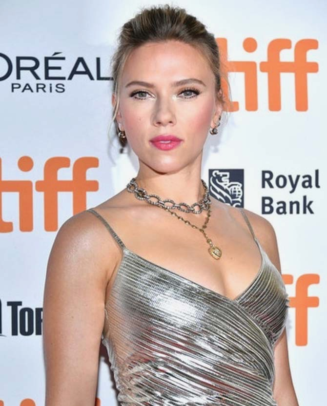 Scarlett Johansson wearing Fred Leighton at TIFF
