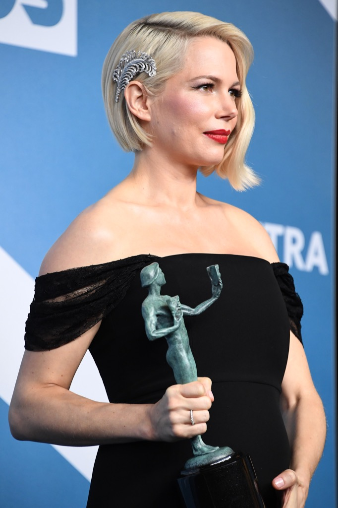 Michelle Williams wore a Forevermark