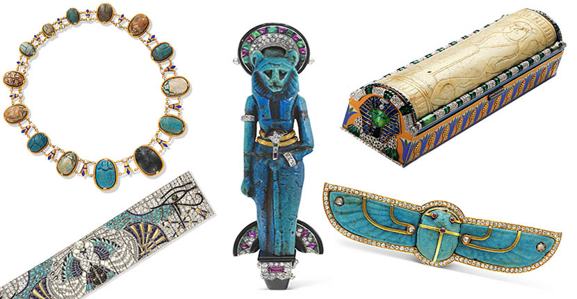 The Adventurine Posts The Eternal Appeal of Egyptian Revival Jewelry