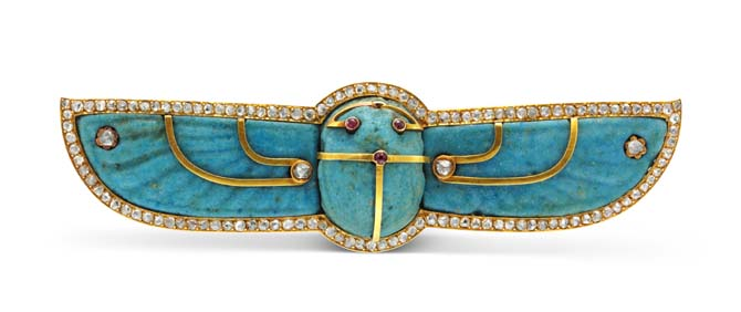 Winged scarab brooch. Photo FD Gallery