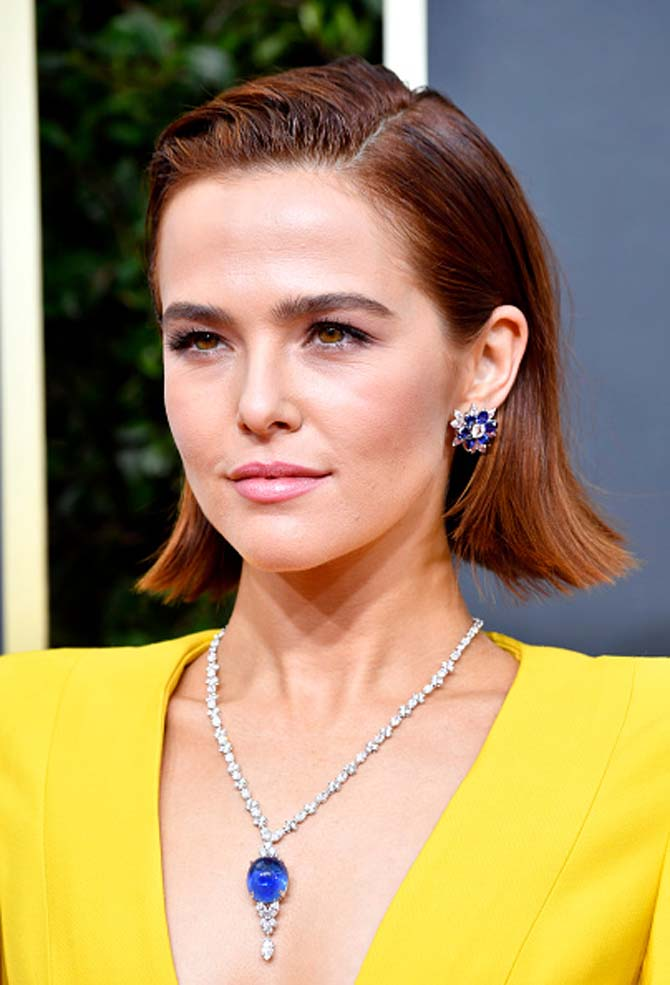 Zoey Deutch wore jewels by Bvlgari