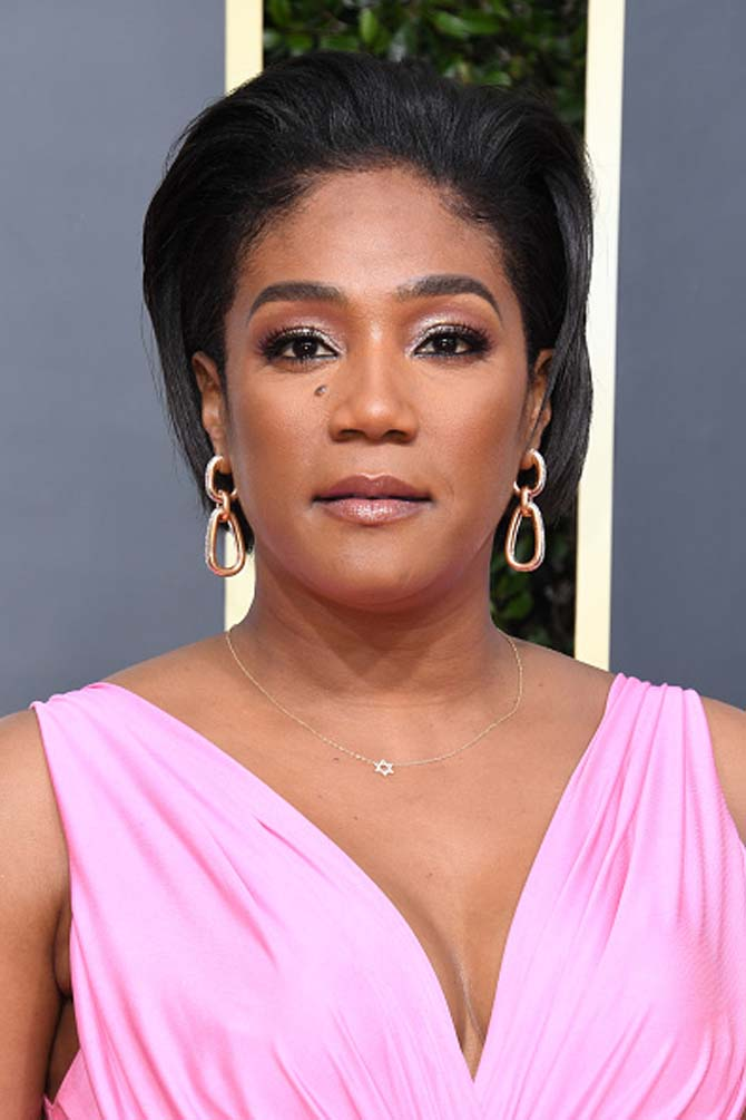 Tiffany Haddish wore earrings by Pomellato