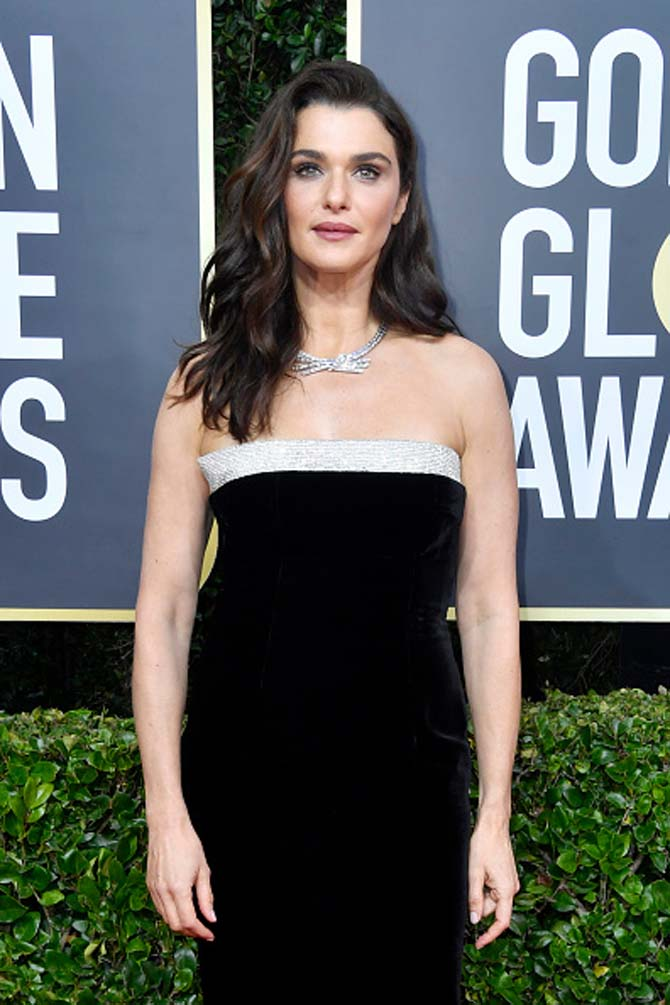 Rachel Weisz wore Harry Winston
