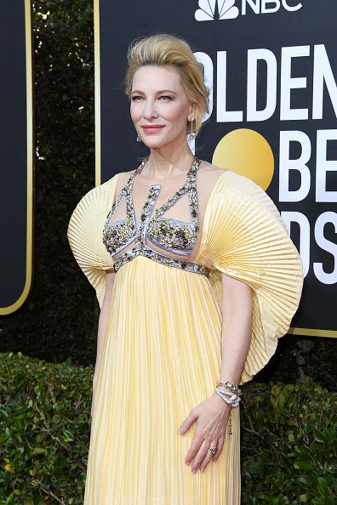 Cate Blanchett wore jewels by Pomellato