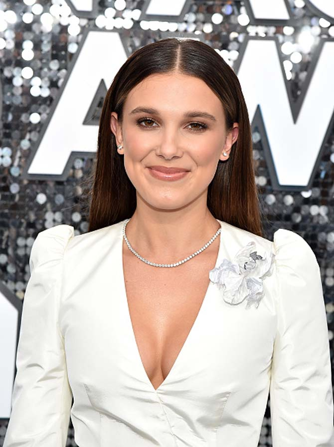 Millie Bobby Brown wore diamond jewelry by Cartier