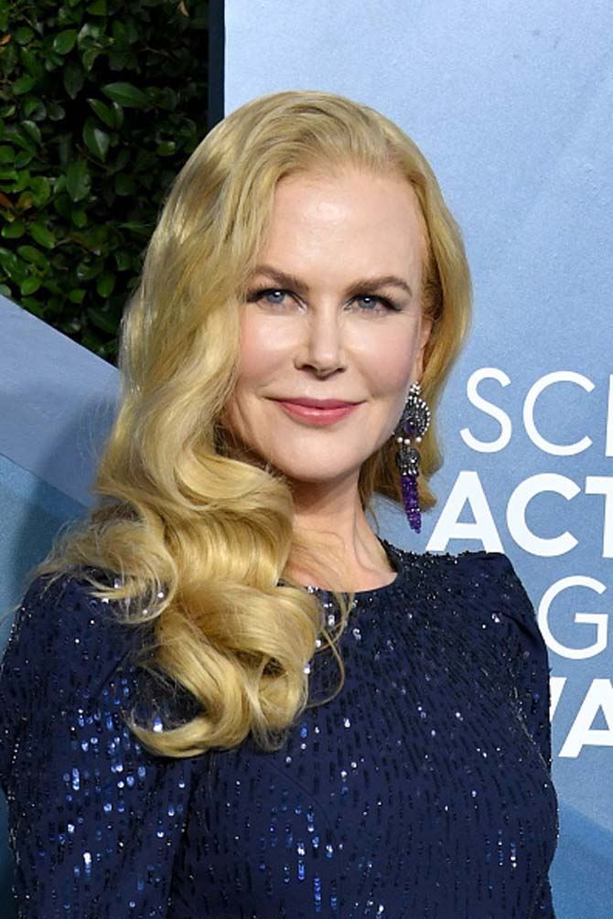 Nicole Kidman wore earrings by Lydia Courteille