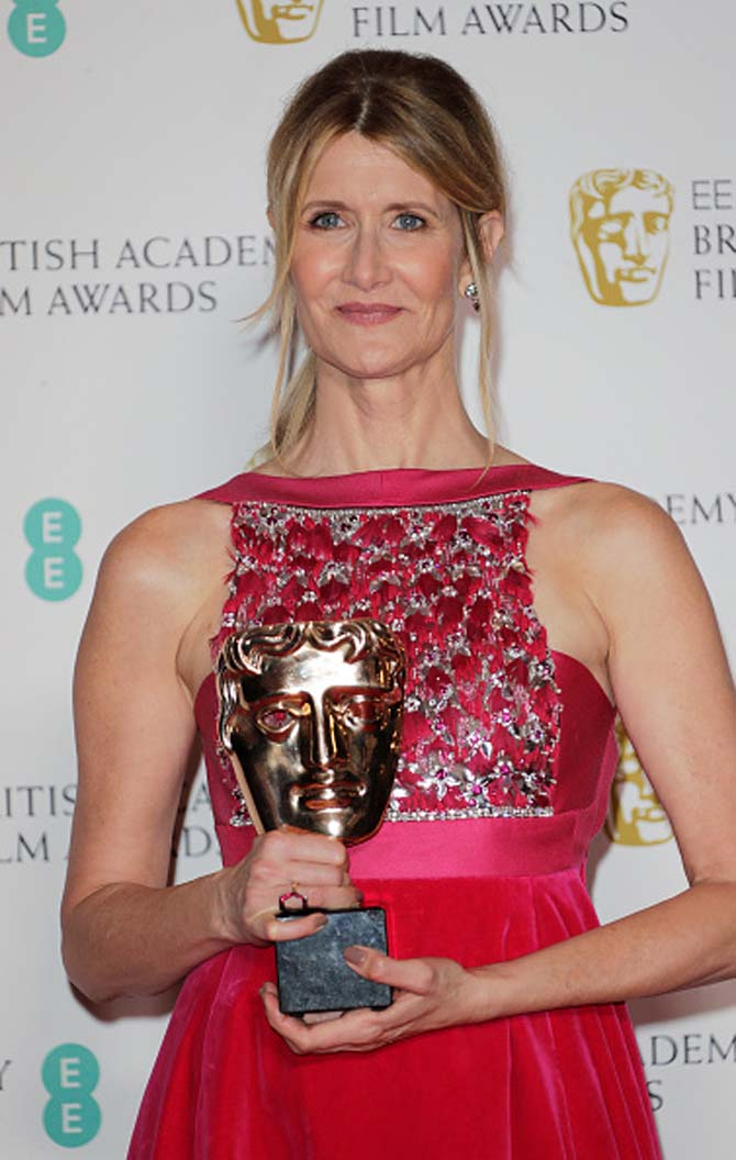 Laura Dern wore jewels by London based designer Jessica McCormack.