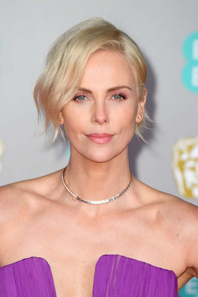 Charlize Theron in Tiffany