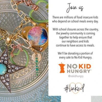 The AdventurinePostsJewelry to Shop Now for No Kid Hungry Charity