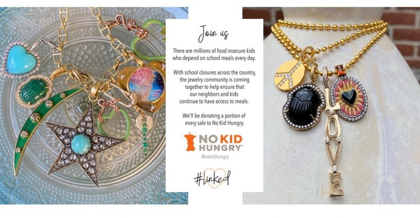 The Adventurine Posts Jewelry to Shop Now for No Kid Hungry Charity