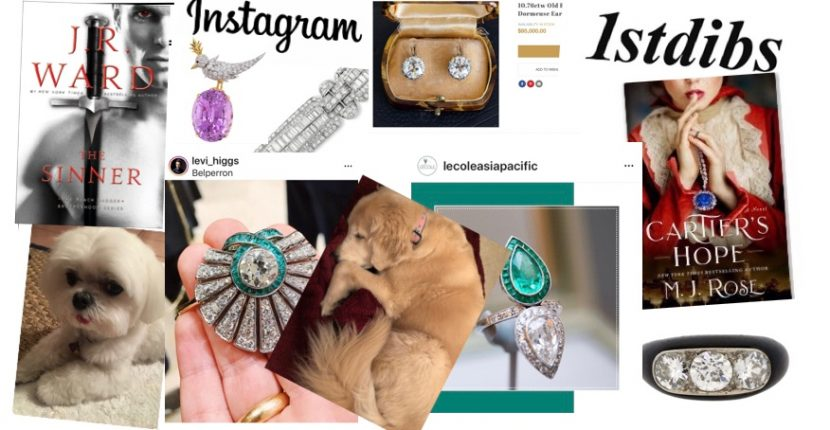 The AdventurinePostsLust: Fantasy Jewelry Shopping During A Pandemic